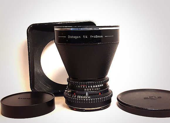 SOLD - 40MM F4 CT* DISTAGON. GOOD