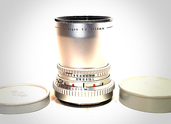50MM F4 C DISTAGON LENS. EXC+++