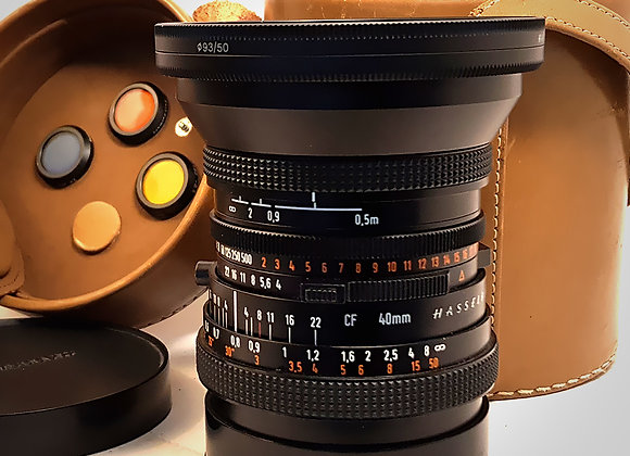 40MM F4 CFT* FLE DISTAGON LENS. EXC++