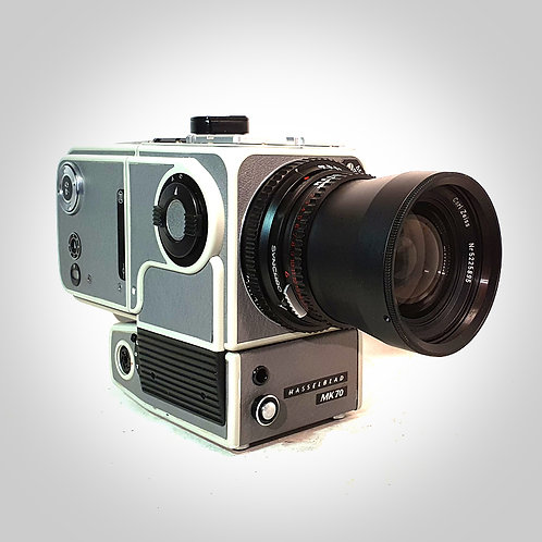 MK70 WITH 60MM F5.6 BIOGON LENS & MK70 BACK. NEAR EXC+++