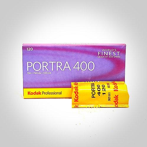 KODAK PORTRA 400 COLOUR FILM - 120