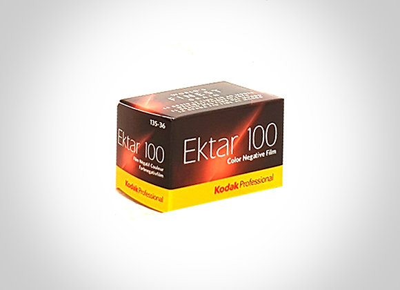 KODAK EKTAR 100 COLOUR FILM - 135/36