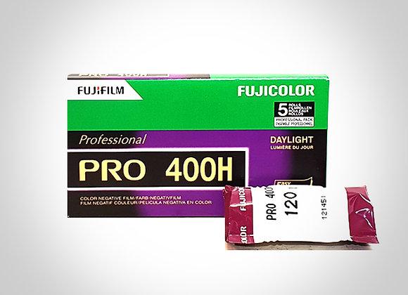 FUJI PRO 400H COLOUR FILM - 120