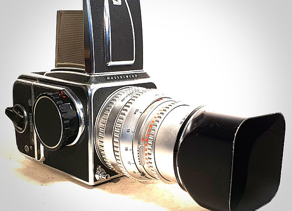 500CM WITH 150MM F4 C PLANAR LENS & A12 BACK. EXC++