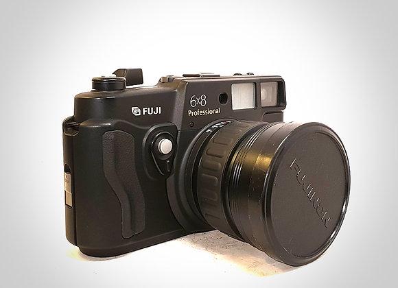 FUJI GSW680 III 6X8 PRO WITH FUJINON SW 65MM F5.6 LENS. NEAR MINT
