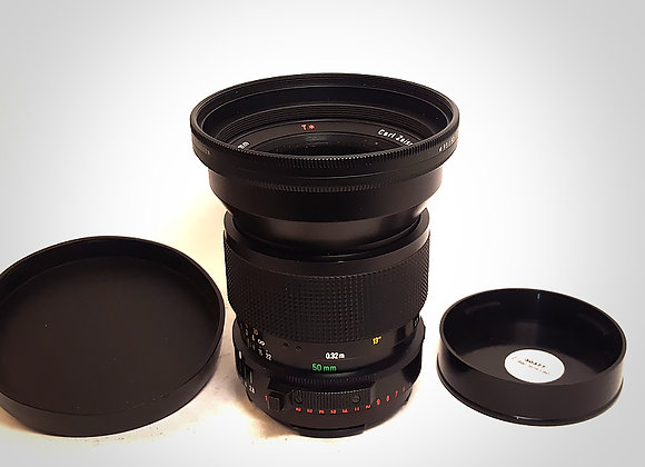 50MM F2.8 FT* DISTAGON LENS. EXC+++