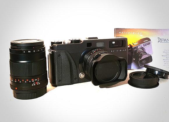 XPAN II WITH 45MM F4 & 90MM F4 XPAN LENSES. MINT-