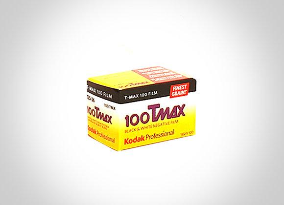 KODAK TMAX 100 B&W FILM - 135/36