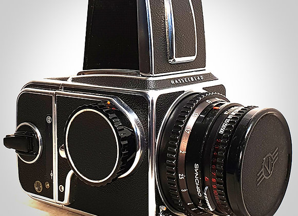 500CM WITH 80MM F2.8 CT* PLANAR LENS & A12 BACK. EXC++