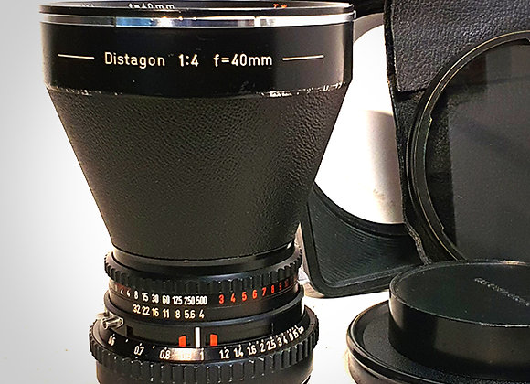 40MM F4 CT* DISTAGON LENS. EXC++