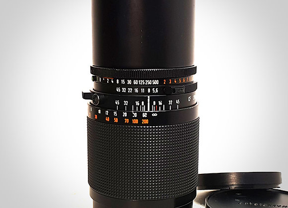 250MM F5.6 CFT* SONNAR LENS. EXC++