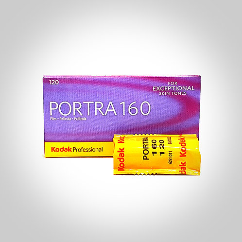 KODAK PORTRA 160 COLOUR FILM - 120