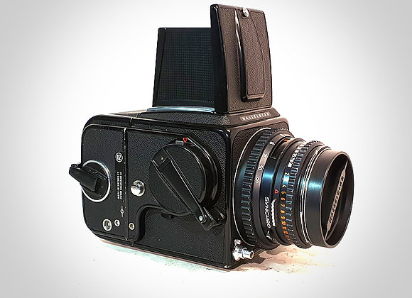 500CM WITH 80MM F2.8 CT* PLANAR LENS & A12 BACK. NEAR EXC++