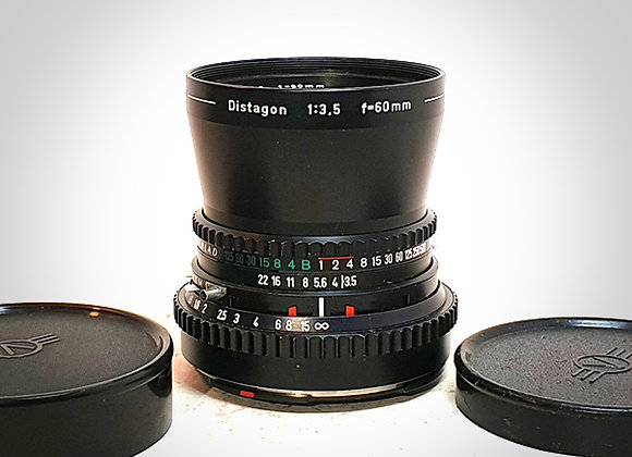 60MM F3.5 CT* DISTAGON LENS. NEAR EXC+++