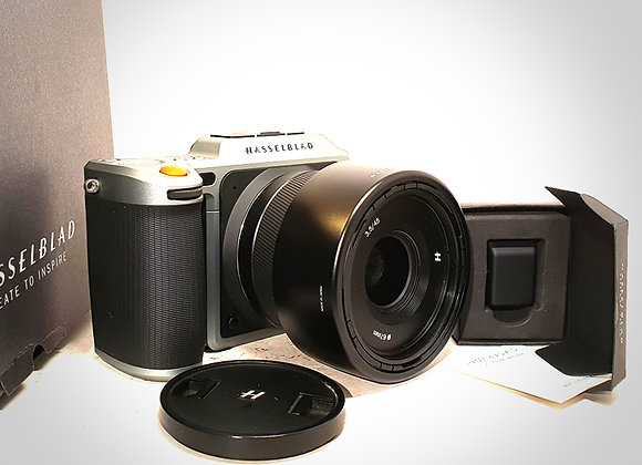 X1D 50C WITH 45MM XCD F3.5 LENS. NEAR MINT