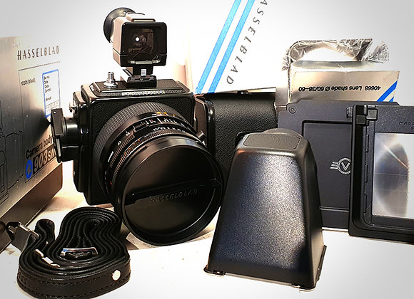 903SWC WITH 38MM F4.5 CFT* BIOGON LENS & A12 BACK. MINT