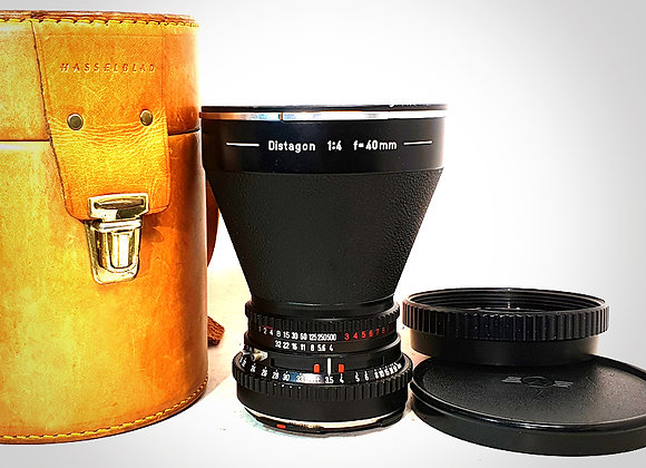 40MM F4 CT* DISTAGON LENS. EXC+++