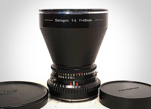 40MM F4 C DISTAGON LENS. EXC+