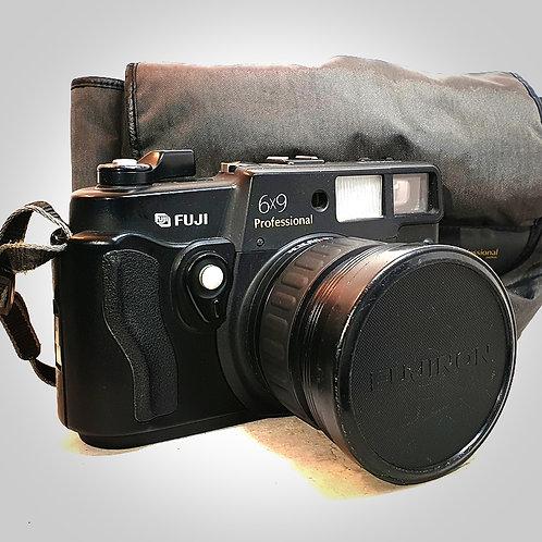 FUJI GSW690 III 6X9 PRO WITH EBC FUJINON 90MM F3.5 LENS. EXC+