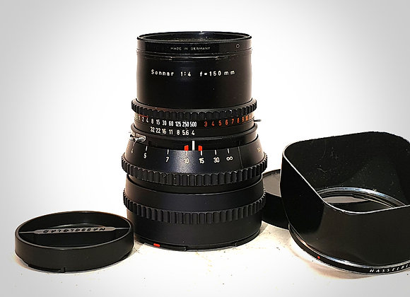 150MM F4 CT* SONNAR LENS. NEAR EXC+++