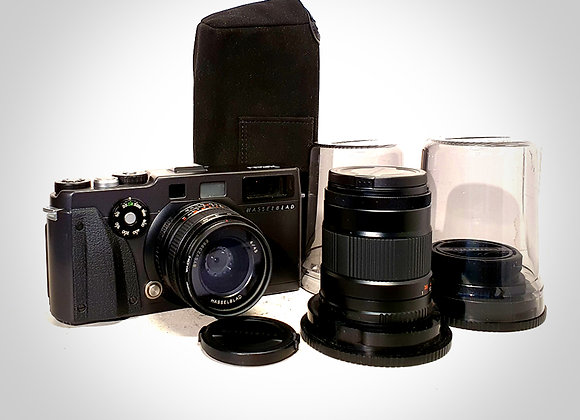XPAN WITH 45MM F4 & 90MM F4 LENSES. EXC+++