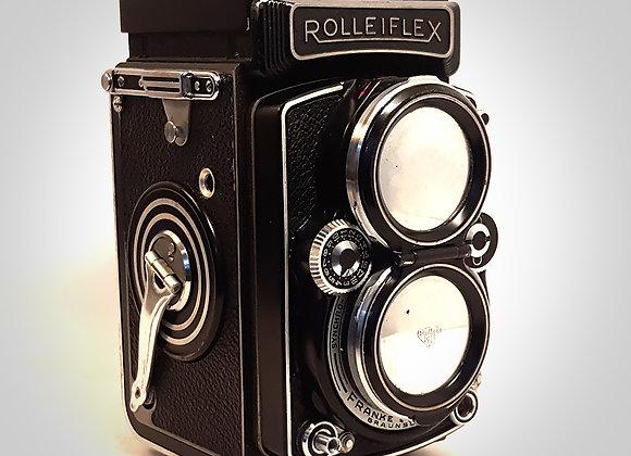 SOLD - ROLLEIFLEX 2.8D CAMERA. EXC+