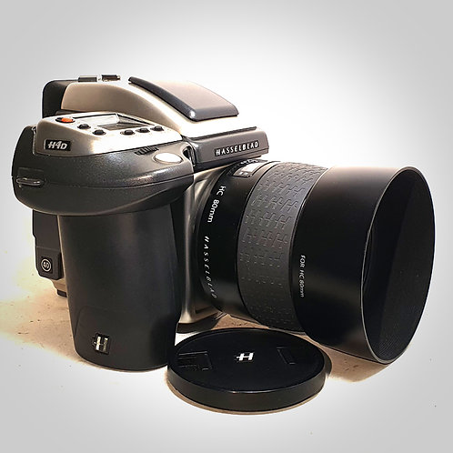H4D-40MP STAINLESS STEEL WITH 80MM F2.8 HC LENS. NEAR EXC+++
