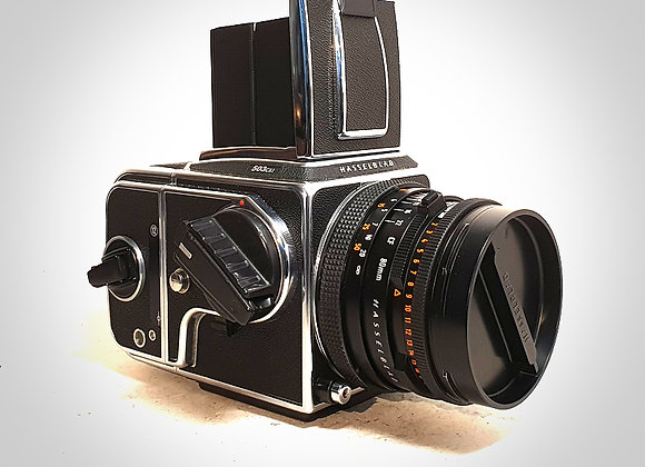 503CXI WITH 80MM F2.8 CFT* PLANAR LENS & A12 BACK. NEAR EXC++
