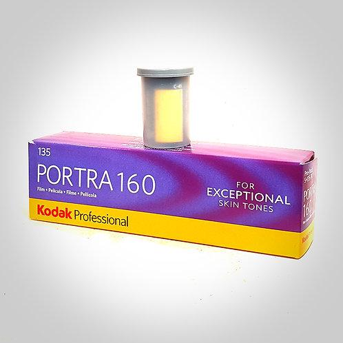 KODAK PORTRA 160 COLOUR FILM - 135/36