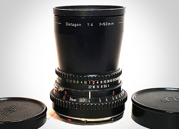 50MM F4 CT* DISTAGON LENS. EXC