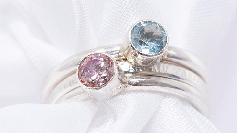 Set of 3 stacker rings
