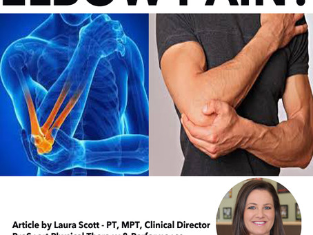 ELBOW PAIN? YOU MIGHT HAVE TENNIS ELBOW