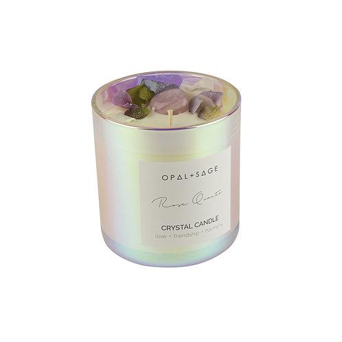 Rose Quartz Dream Jar Candle