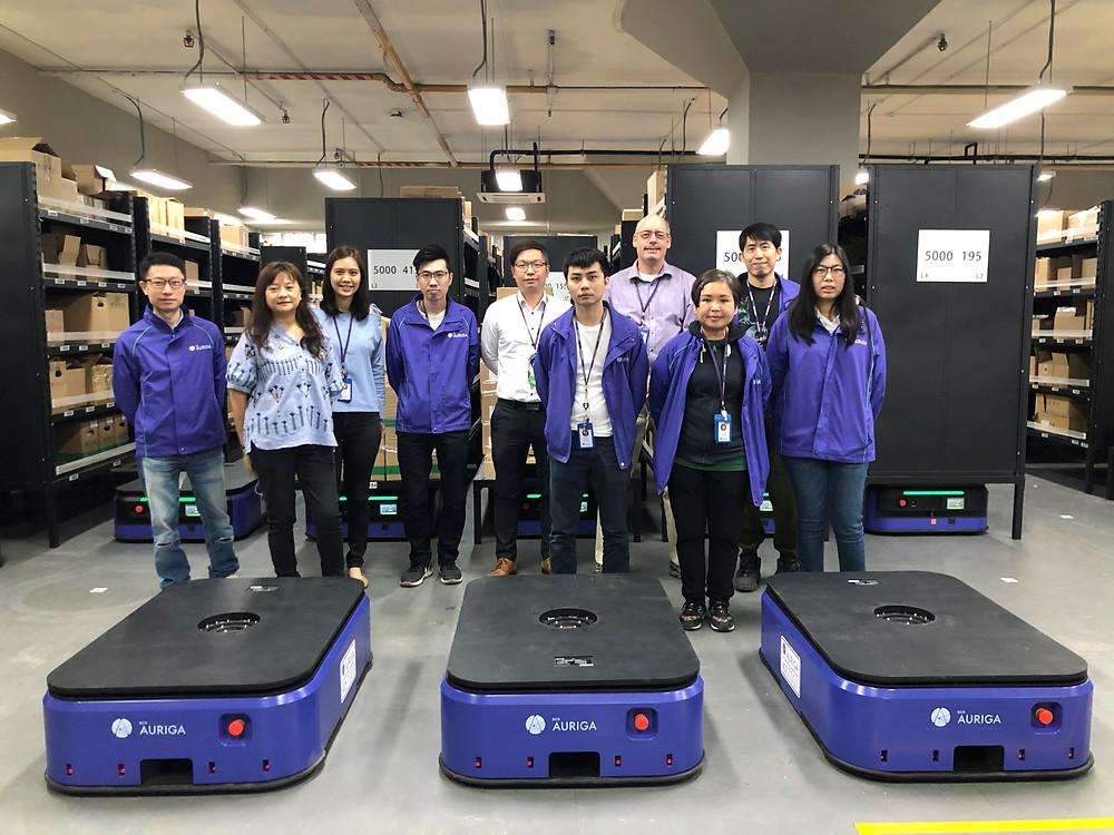 AC2 Group Warehouse Robots AGV