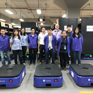 DCH Auriga Embarks On Robotics Warehouse Operation With AC2 Group