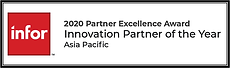 AC2 Group won 2020 partner excellent award innovation partner of the year
