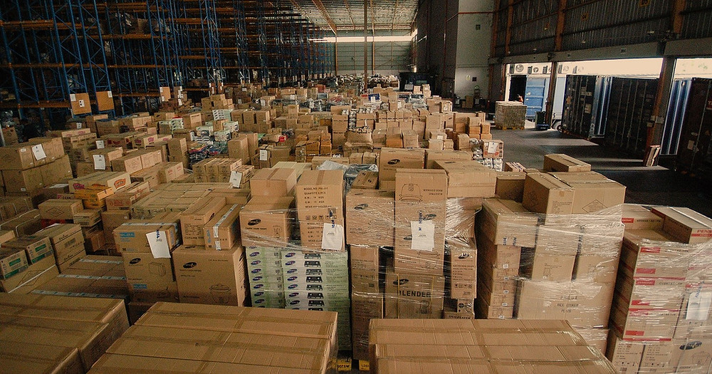 AC2 Group - Staging Area in a warehouse