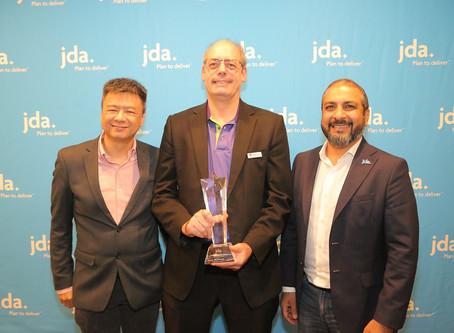 奥利佳DCH Auriga荣获2018年JDA亚太区实际业绩最佳绩效奖