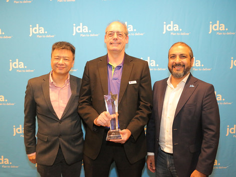 DCH Auriga announced as a 2018 JDA Real Results Awards Winner for Best Results APAC