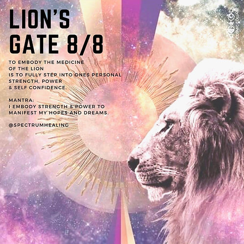 2019 - Special Lions Gate Portal