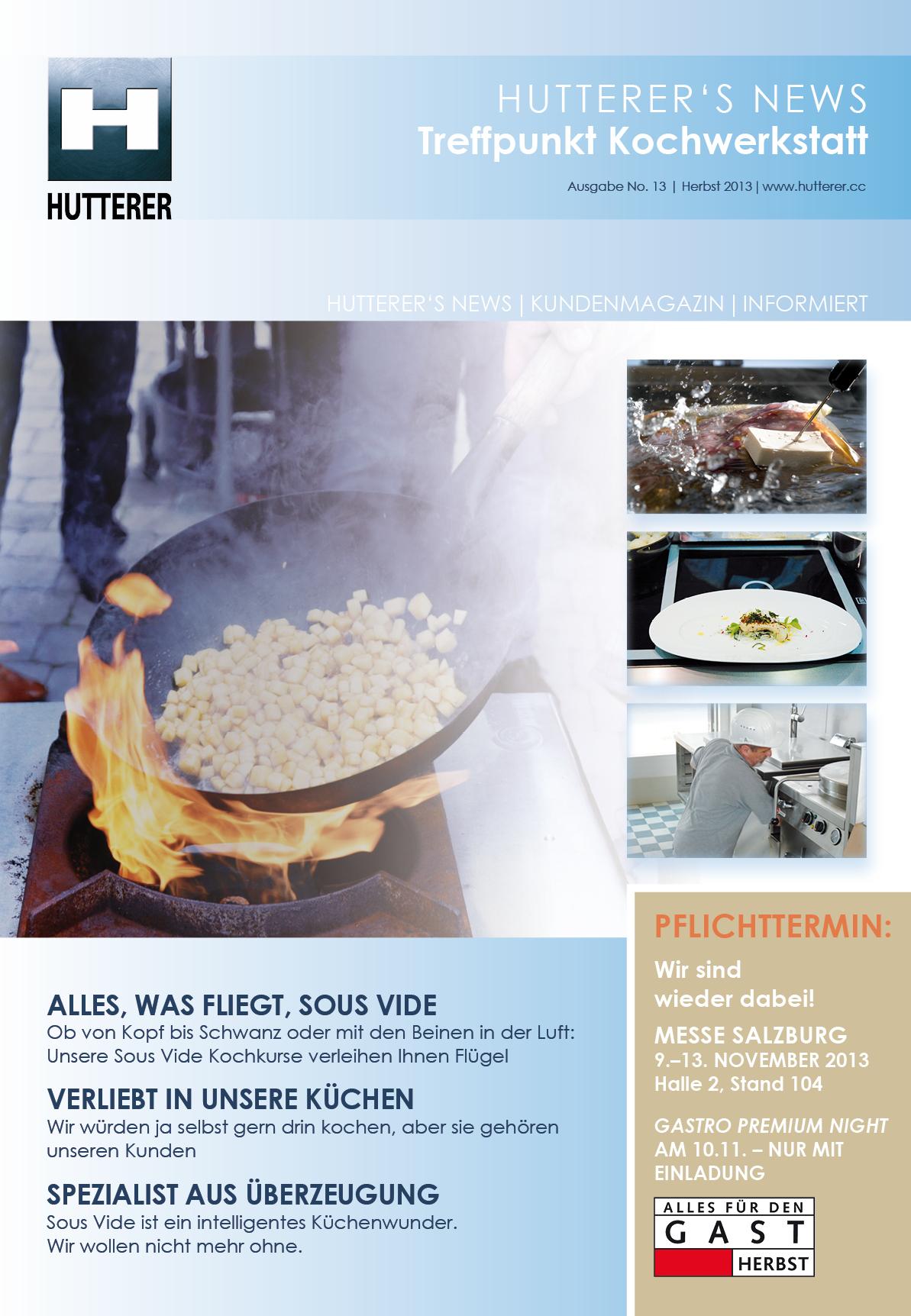 HUTTERER Kundenmagazin (B2B)