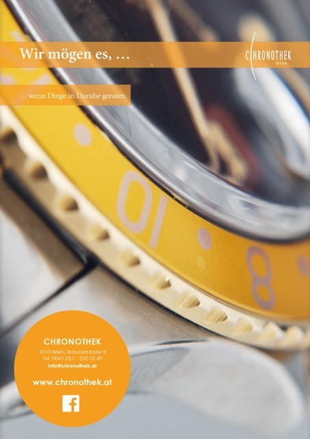 CHRONOTHEK Inserat 2015