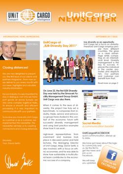 UNIT CARGO Kundenmagazin (B2B)