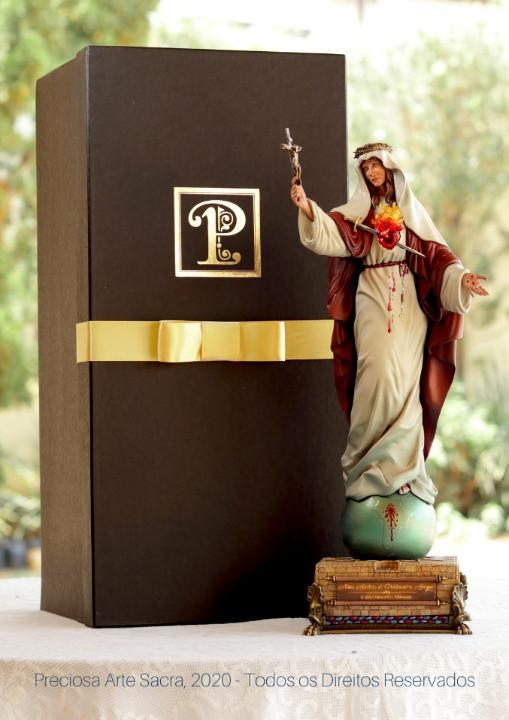 Imagem Nossa Senhora do Preciosíssimo Sangue e das Criancinhas Abortadas