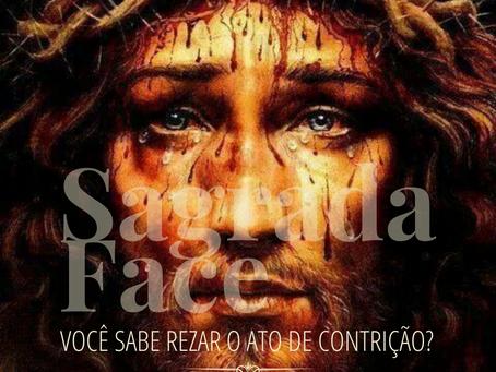 Oração para o Dia da Festa da Sagrada Face (Terça-feira de Carnaval)