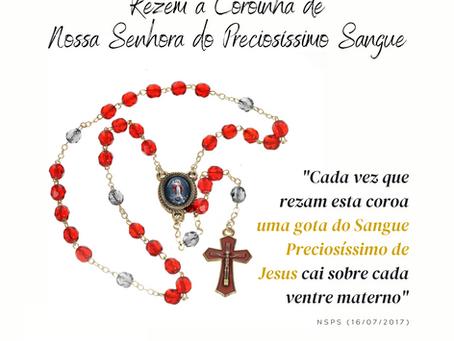 Coroinha de Nossa Senhora do Preciosíssimo Sangue e das Criancinhas Abortadas