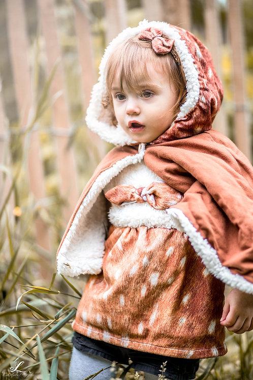 "Robe sans manches ""Little fawn"""