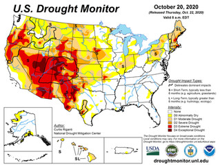 This Week's Drought Summary (10/22)