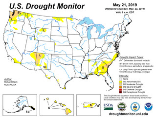 This Week's Drought Summary (5/23)
