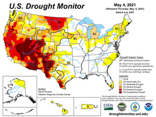 This Week's Drought Summary (5/6)